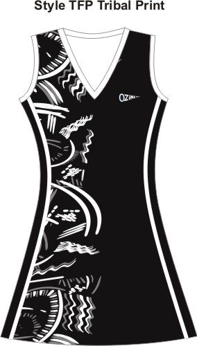 86ad2e97098 This style netball dress has the least amount of flare of all our dress  designs. All our netball dresses have a standard V neck, with round neck  and racer ...